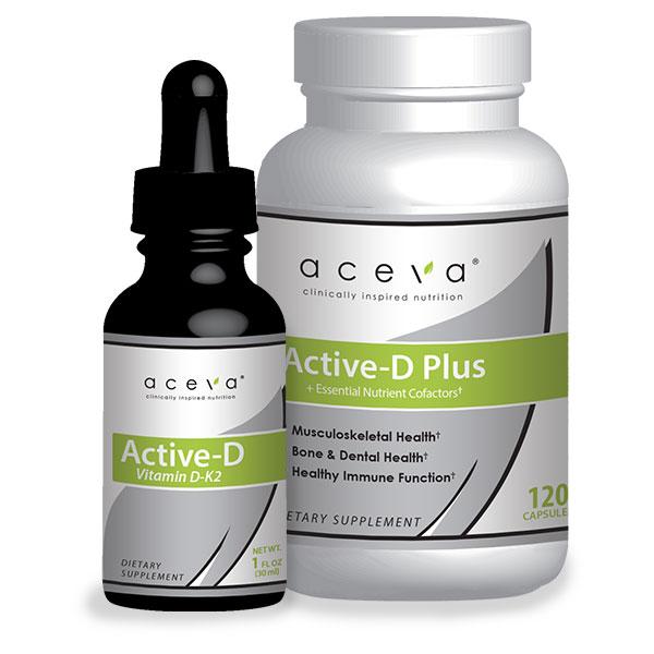 Aceva active d supplements